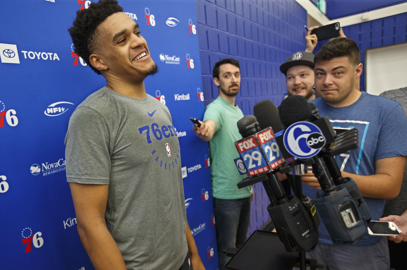 Tobias Harris' youngest brother to play on Sixers' summer team