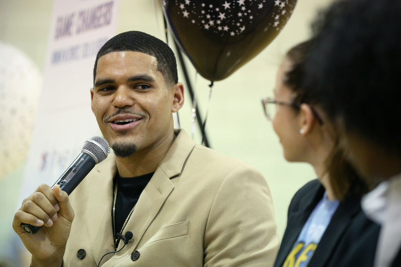 Hometown fans still love Sixers forward Tobias Harris for his heart and generosity