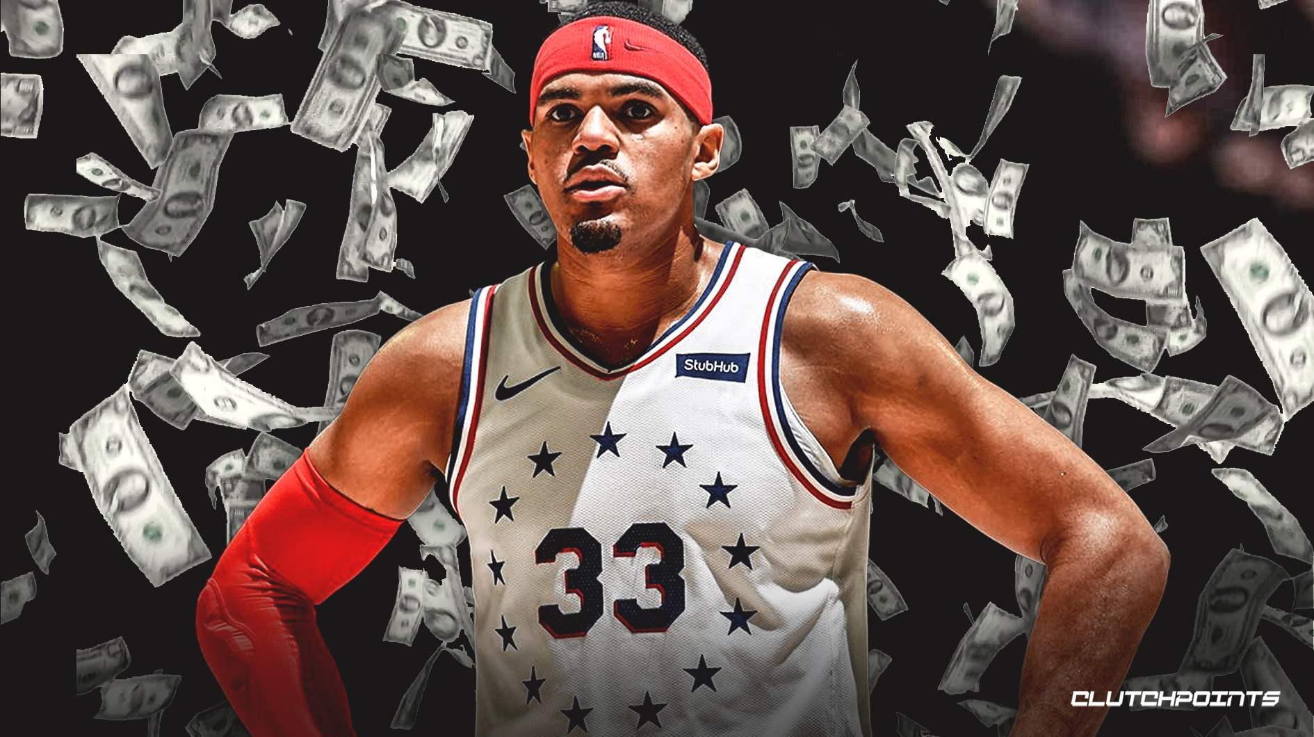 Sixers' Tobias Harris credits his dad/agent after netting 5-year, $180 million free-agent deal